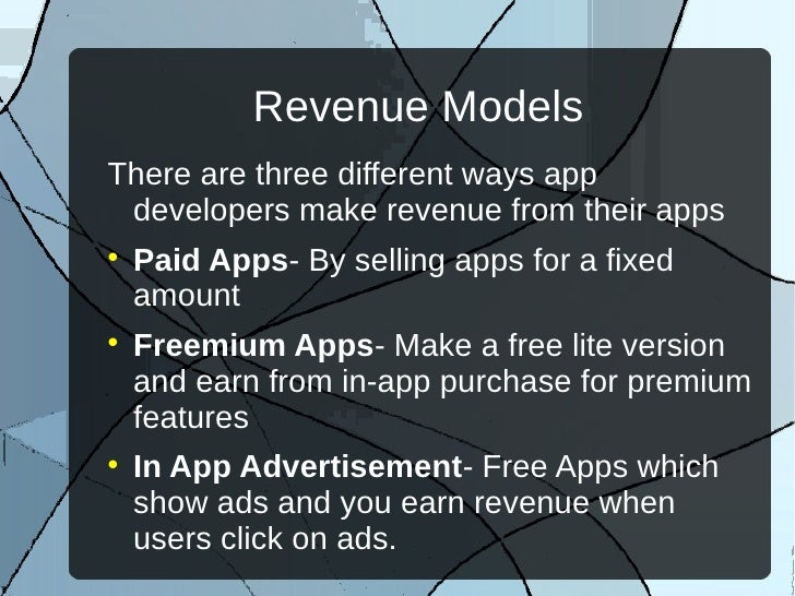 In App Advertisement – Free App Revenue Model