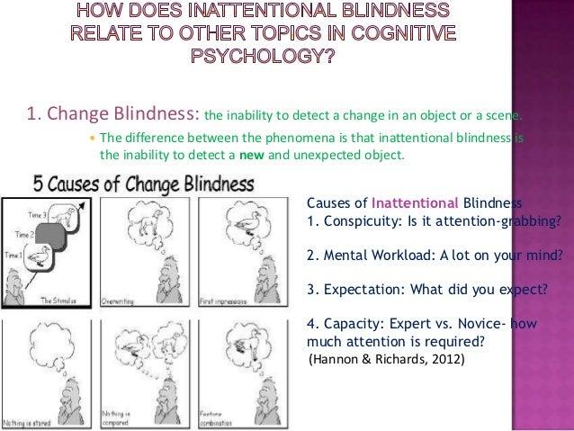 Phenomenon of Change Blindness