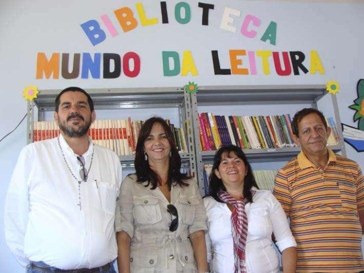 Inaugurada biblioteca comunitaria do distrito de milagre