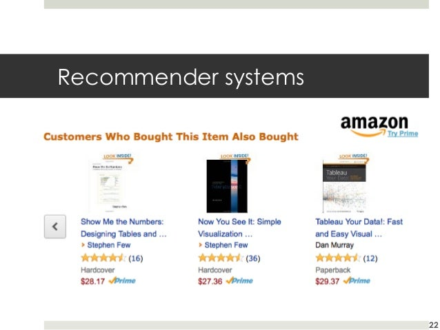 Recommender systems  22