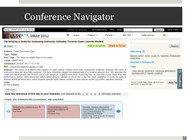 Conference Navigator  32