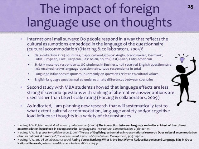 Babel In Business The Role Of Language In International Business - International language ranking
