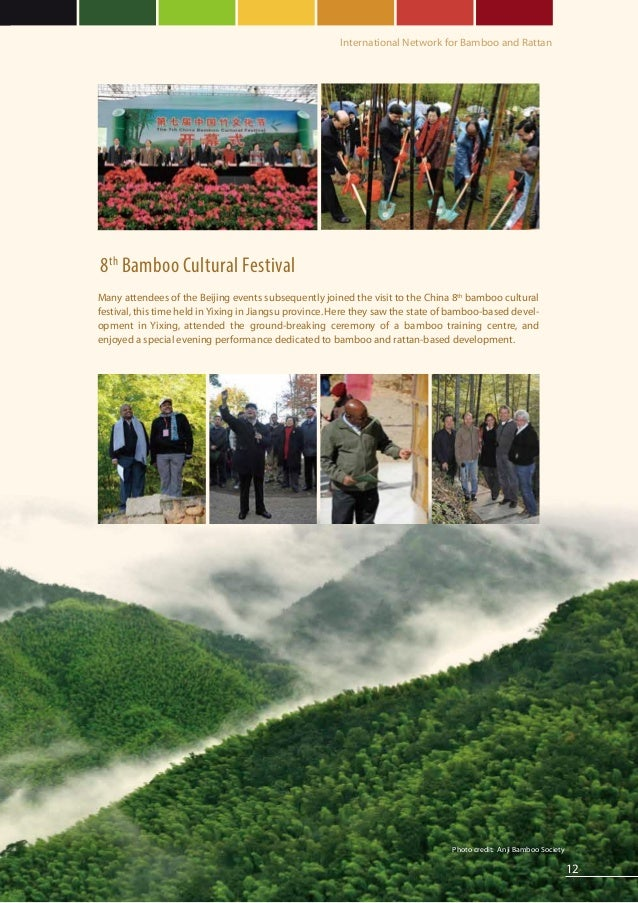 rattan chinese hat 2012 annual report from inbar intl network of bamboo rattan
