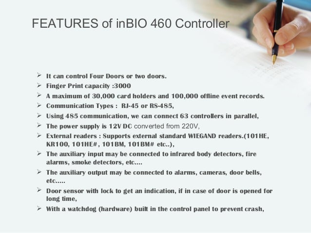 In bio 460 Access Control System http://ampletrails com