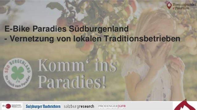 E-Bike Paradies Südburgenland - Vernetzung von lokalen Traditionsbetrieben