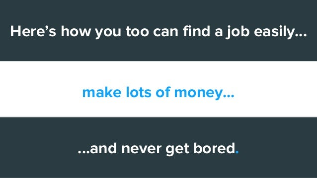 how to make a lot of money easily