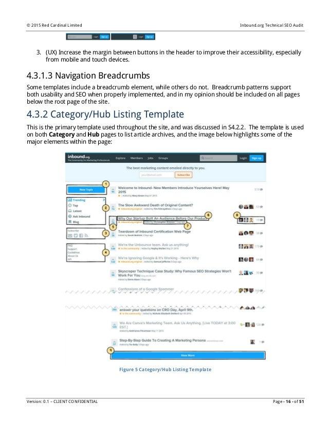 inbound org technical seo audit