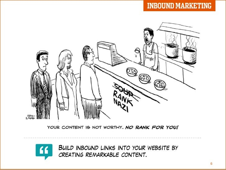 Inbound Marketing Cartoon E Book