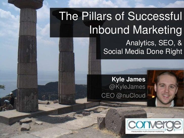 The Pillars of Successful     Inbound Marketing                Analytics, SEO, &         Social Media Done Right          ...