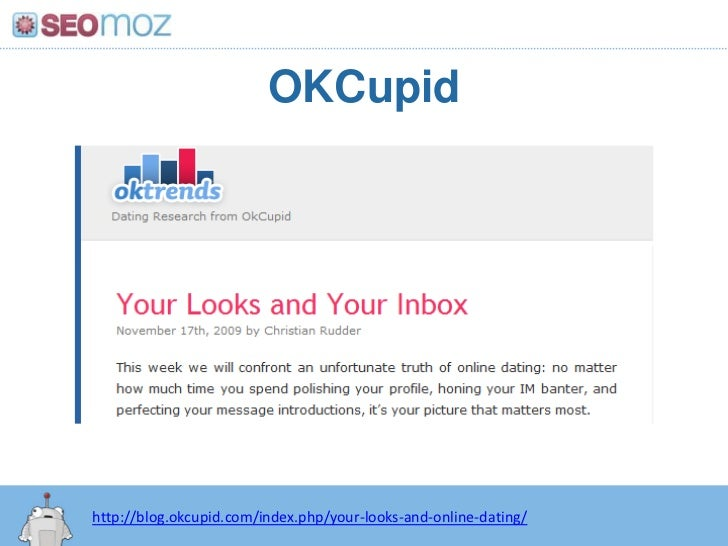 Okcupid your looks and online dating