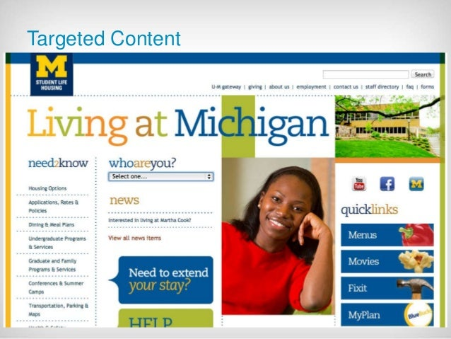 July 21 2014 - 45  Targeted Content  Example