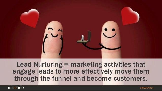Lead Nurturing Beyond the Inbox - INBOUND14 Slide 3