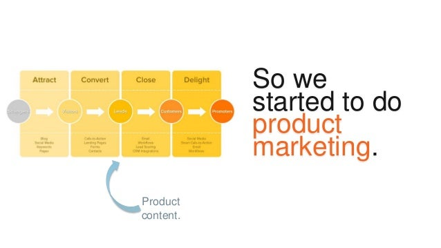 Great product marketing is a great product story.