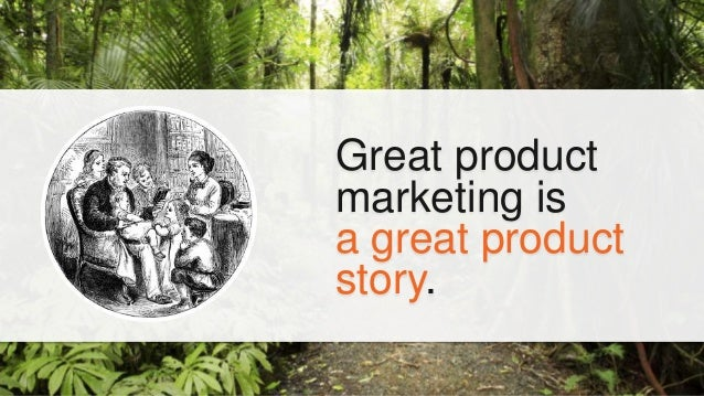 """It""""s told through product launches and sales enablement."""