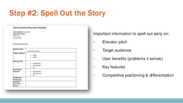 """Make the audience forget you""""re pitching them."""