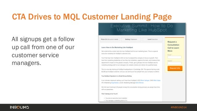 How to Turn Your Customer Base into a Revenue Engine [INBOUND 2014] Slide 47