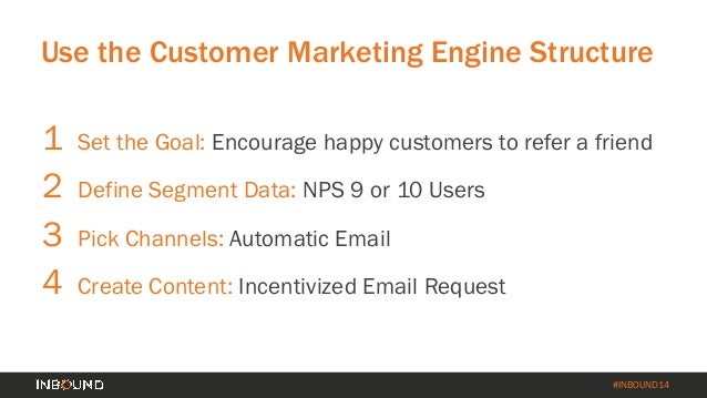 How to Turn Your Customer Base into a Revenue Engine [INBOUND 2014] Slide 52