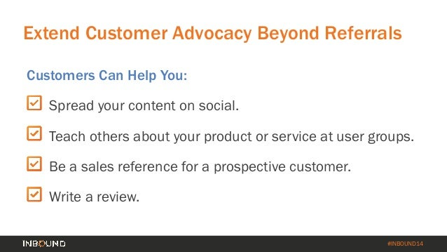 How to Turn Your Customer Base into a Revenue Engine [INBOUND 2014] Slide 54