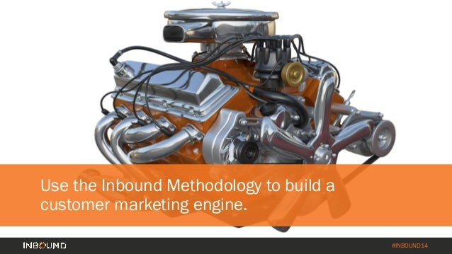#INBOUND14 Four Components of Your Customer Marketing Engine Segment Data Content Channels Triggered by Data Customer Goal