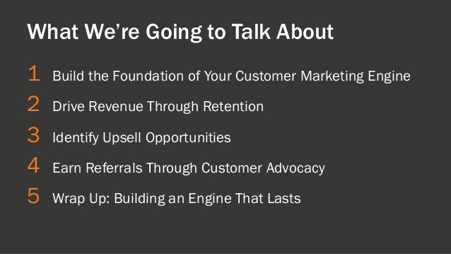 How to Turn Your Customer Base into a Revenue Engine [INBOUND 2014] Slide 9