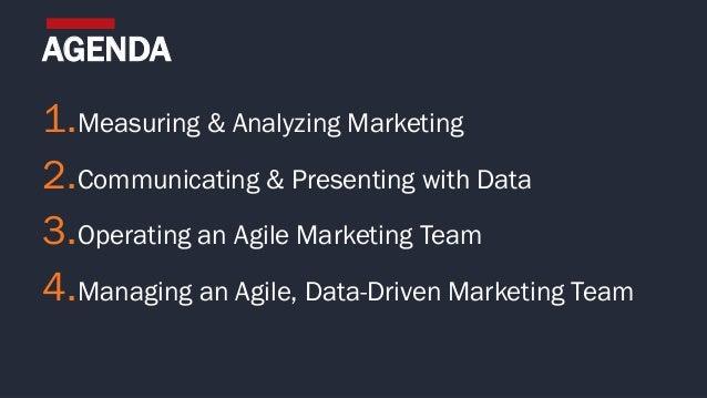 Creating an Agile, Data-Driven Marketing Culture Slide 2