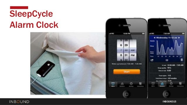 INBOUND15 SleepCycle Alarm Clock