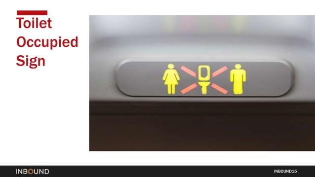 INBOUND15 Toilet Occupied Sign