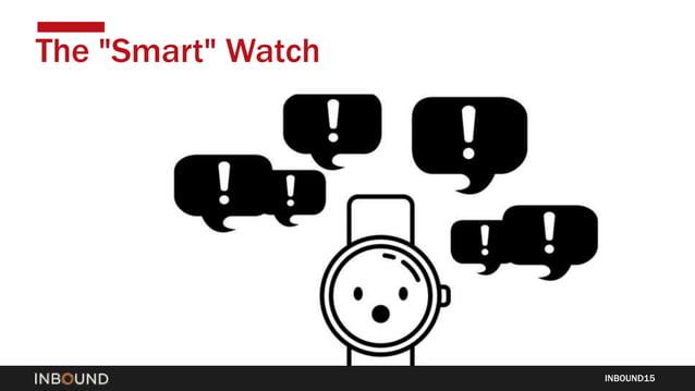"""INBOUND15 The """"Smart"""" Watch"""