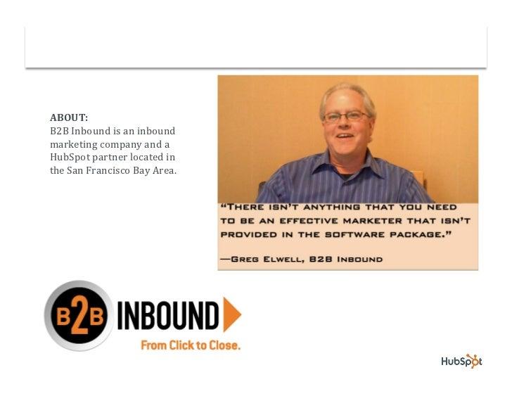 Partner B2B Inbound Targets Larger Companies with HubSpot Slide 2