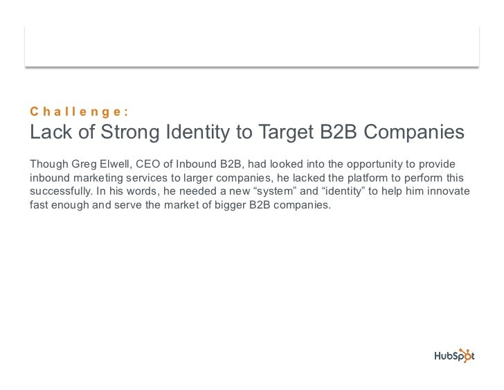 Partner B2B Inbound Targets Larger Companies with HubSpot Slide 3