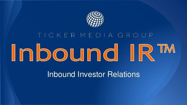 Inbound Investor Relations