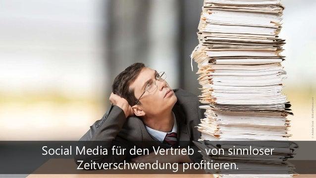 Social Media für den Vertrieb - von sinnloser Zeitverschwendung profitieren. ©AdobeStock-BillionPhotos.com