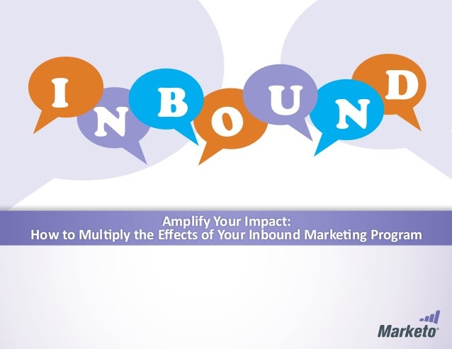 Amplify Your Impact: How to Multiply the Effects of Your Inbound Marketing Program