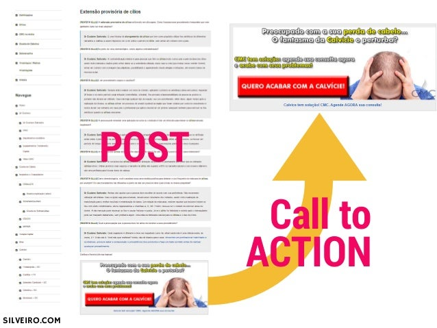 POST  Landing  Page  Call to  ACTION  SILVEIRO.COM