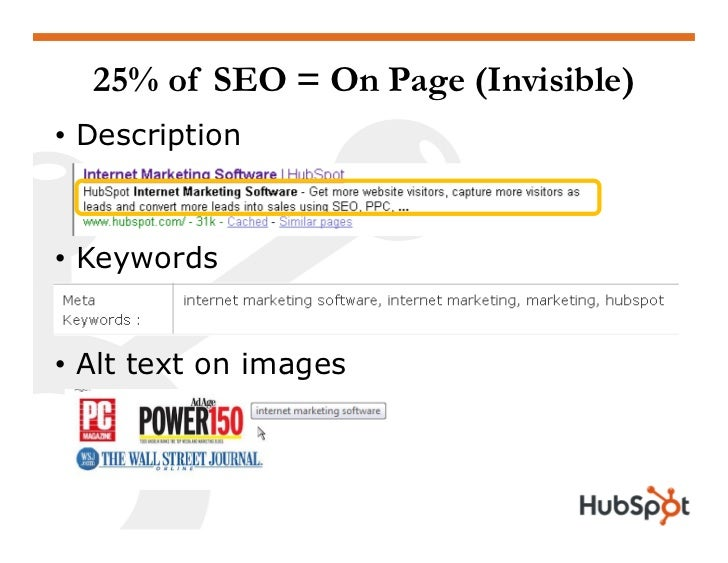 """75% of SEO = Off Page • Recommendations from friends  1. """"I know Rick Burnes""""  2. """"Rick Burnes is a marketing expert""""  3. ..."""