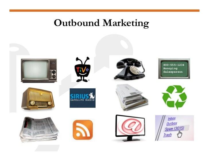 Inbound Marketing  Content     SEO     Social Media