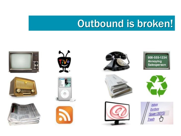 InboundMarketingLuckily there is an alternativethat works;inbound marketing.                                  Lower cost p...