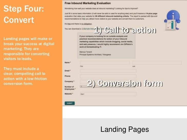 Step Four:ConvertClear messages lead toconversions.Confusing messages lead toabandonments.                             Cle...