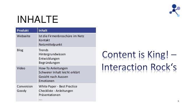 INHALTE Produkt  Inhalt  Webseite  Ist die Firmenbroschüre im Netz Kontakt Netzmittelpunkt  Blog  Trends Hintergrundwissen...