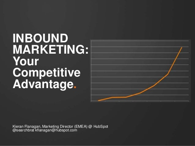 INBOUNDMARKETING:YourCompetitiveAdvantage.Kieran Flanagan, Marketing Director (EMEA) @ HubSpot@searchbrat kflanagan@hubspo...