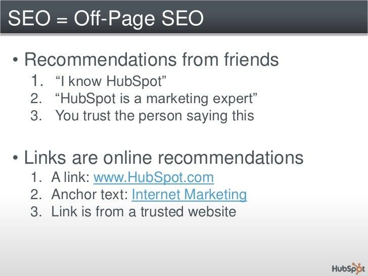 Longer lasting</li></ul>Pay Per Click – 25% of Clicks<br />Organic Results<br />75% of clicks<br />Source: Marketing Sher...