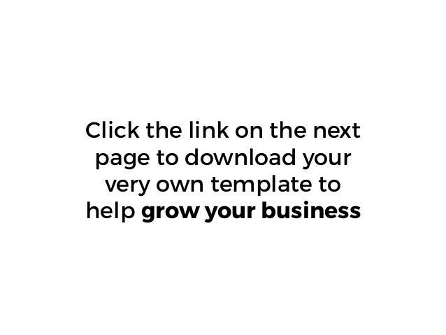 Free 2015 Inbound Marketing Blueprint Template