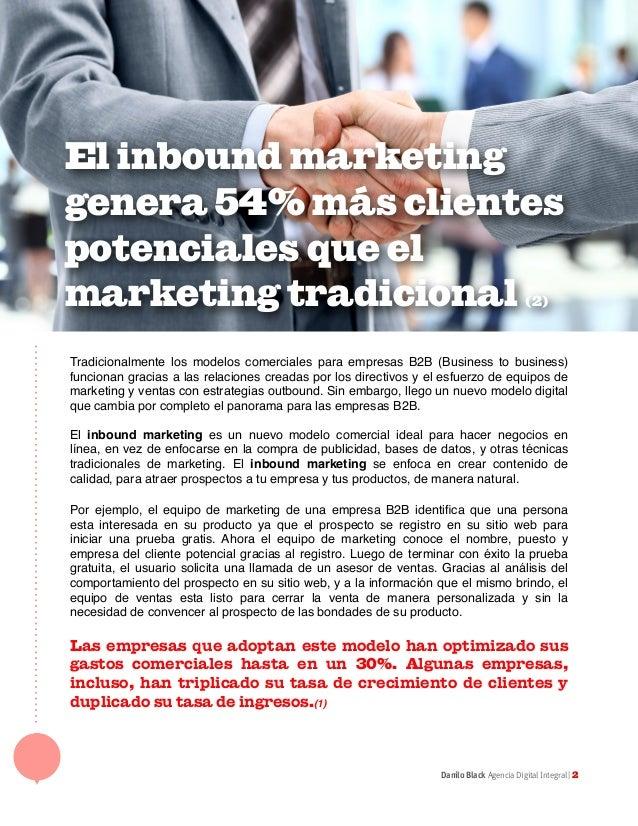 El Inbound marketing en las ventas B2B Slide 2