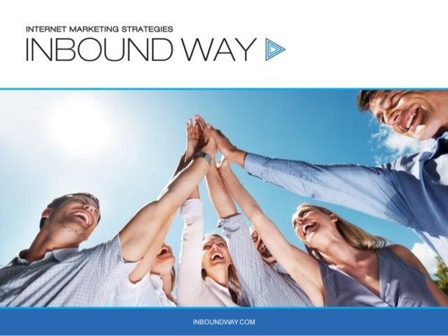 Inbound Marketing   for beginners