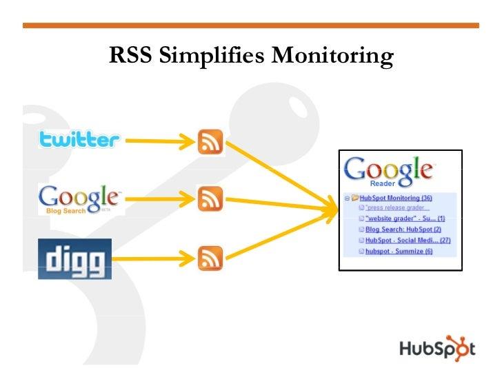 RSS Simplifies Monitoring