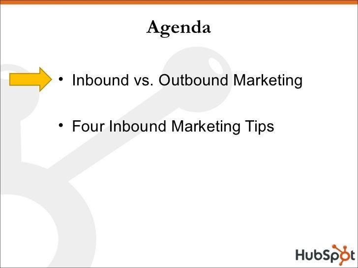 Inbound Marketing - SMEI Social Media Roadshow Feb 2009 Slide 2