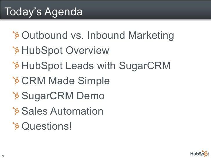 Inbound Marketing with SugarCRM Slide 3