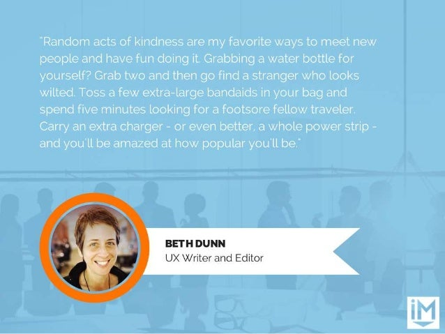 """""""Random acts of kindness are my favorite ways to meet new people and have fun doing it.  Grabbing a water bottle for yours..."""