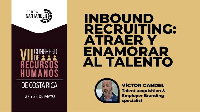 """Adaptación """"Metodología Inboud Recruiting"""" de Toni Gimeno Solans (2016)"""