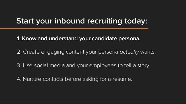 The line between marketing and recruiting is changing.